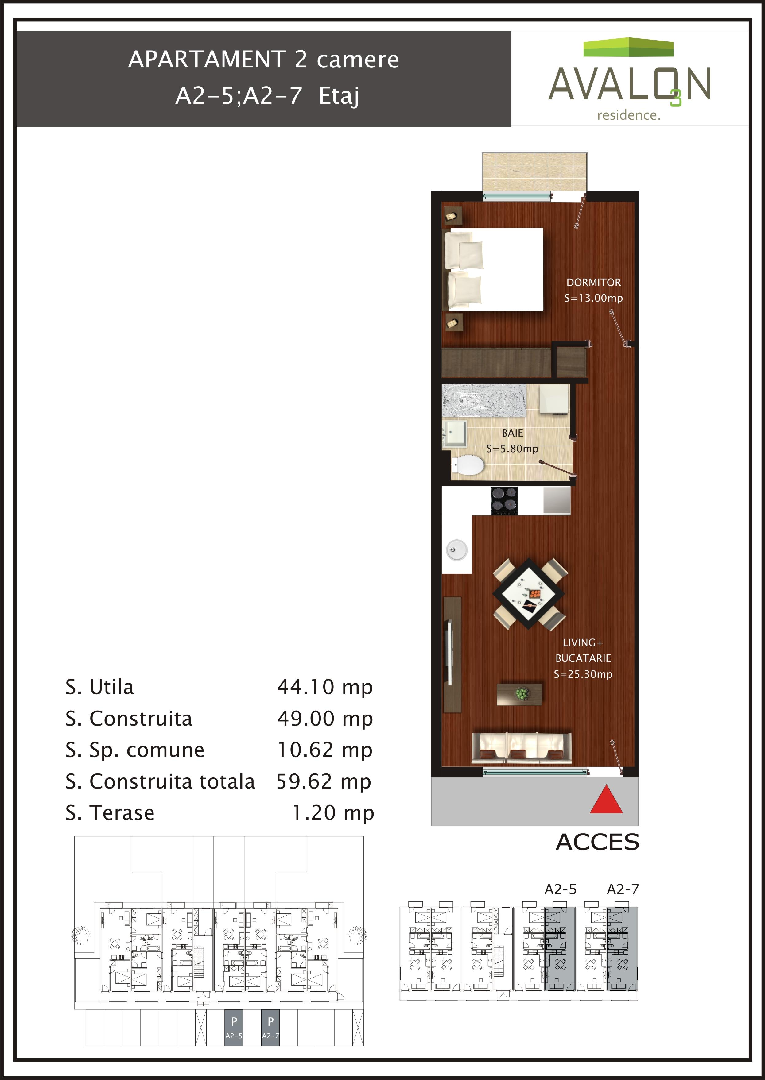 apartament A2-2;2-5;2-7